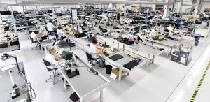 Cell based manufacturing in an electronics factory