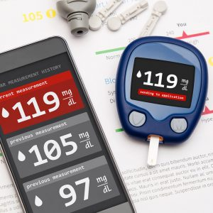 Medical Device Electronics used to measure Blood Sugar Levels