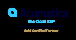 Logo of Acumatica Cloud ERP Gold Certified Partner