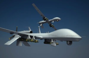 Armed Drone Aeroplanes