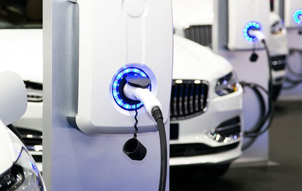 electric car charging cables and charging stations