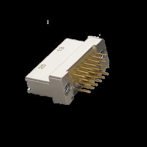 Nano D-Sub Miniature Through Hole Vertical Mount Connector