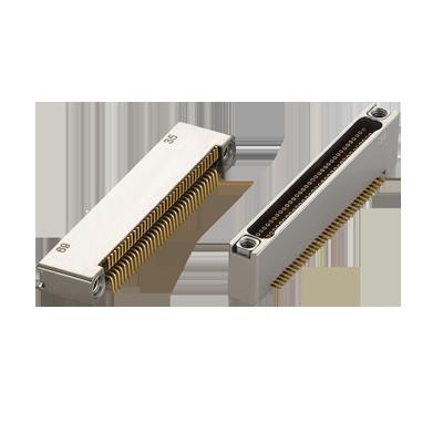 Nano D-Sub Miniature Surface Mount Vertical Connector